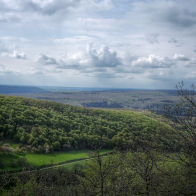 panorama depuis la Roche Percée, Antheuil, Bourgogne