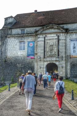Entrée Citadelle de Besançon