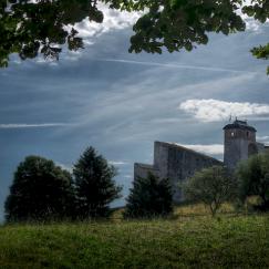 en grimpant à la Citadelle de Besançon