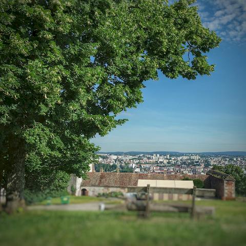 Panorama sur Besançon
