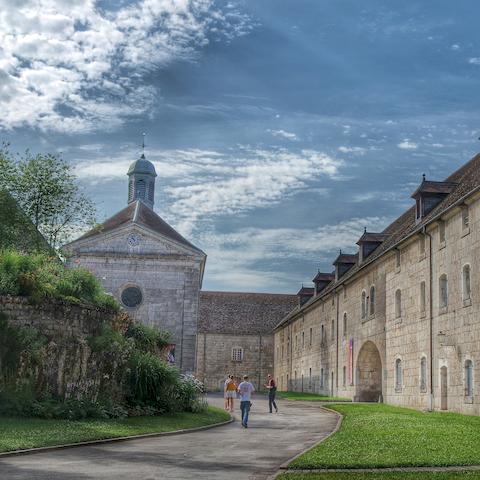 Citadelle Vauban à Besançon en Bourgogne Franche-Comté