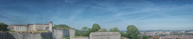 Sur les chemins de ronde de la Citadelle de Besançon