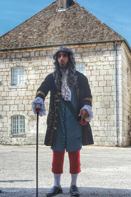 Visite guidée et animée de la Citadelle de Besançon par un comédien