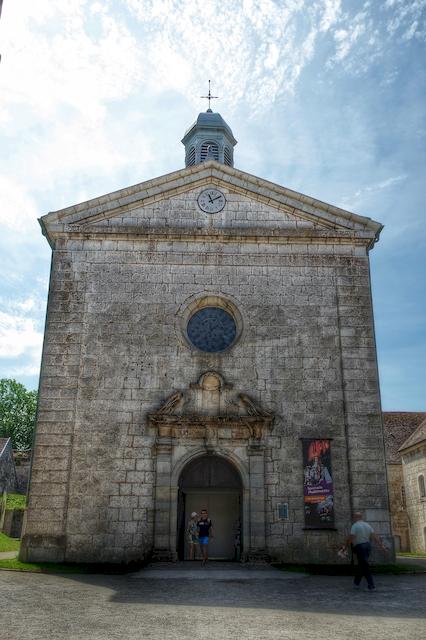Chapelle Saint Etienne Citadelle Besançon