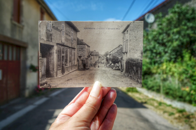 Antheuil, il y a 100 ans