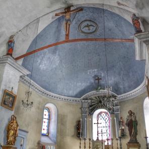 Poutre de Gloire, Eglise Antheuil, Vallée de l'Ouche, Bourgogne
