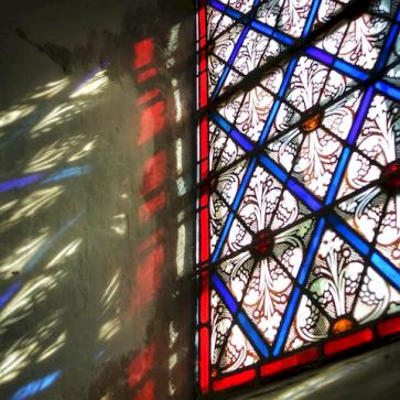 vitrail, Eglise Antheuil, Vallée de l'Ouche, Bourgogne