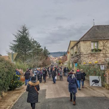 record d'affluence, Saint-Vincent 2017, Mercurey, Bourgogne
