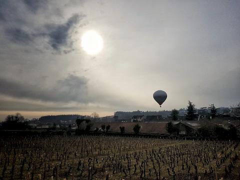 Montgolfière, Saint Vincent 2017, Mercurey, Bourgogne