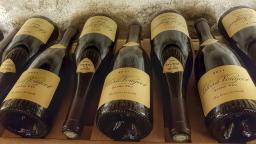 Clos de Vogeot, Grand Cru, La cave aux étoiles, La Maison, Vougeot, Bourgogne, France