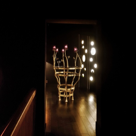 La Bubble Room depuis la JCB Lounge, La Maison, Vougeot, Bourgogne, France