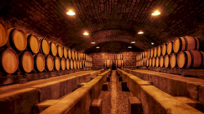 caves 18ème siècle Cuverie Les Ursulines JC Boisset Nuits-saint-Georges, Bourgogne