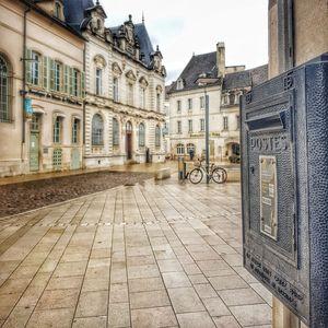 Place des Halles, Beaune, Bourgogne